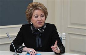 Матвиенко заявила, что ни о какой насильственной вакцинации речи быть не может
